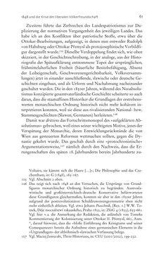 Bild der Seite - 61 - in Aufklärung habsburgisch - Staatsbildung, Wissenskultur und Geschichtspolitik in Zentraleuropa 1750–1850