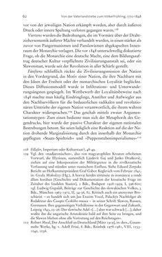 Bild der Seite - 62 - in Aufklärung habsburgisch - Staatsbildung, Wissenskultur und Geschichtspolitik in Zentraleuropa 1750–1850