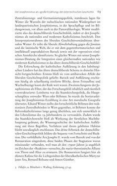Bild der Seite - 69 - in Aufklärung habsburgisch - Staatsbildung, Wissenskultur und Geschichtspolitik in Zentraleuropa 1750–1850