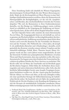 Bild der Seite - 70 - in Aufklärung habsburgisch - Staatsbildung, Wissenskultur und Geschichtspolitik in Zentraleuropa 1750–1850