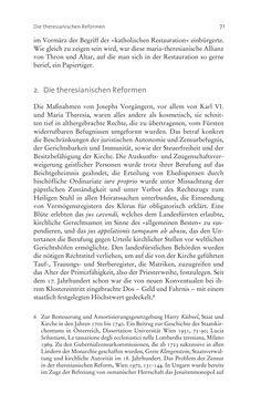Bild der Seite - 71 - in Aufklärung habsburgisch - Staatsbildung, Wissenskultur und Geschichtspolitik in Zentraleuropa 1750–1850