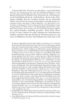 Bild der Seite - 72 - in Aufklärung habsburgisch - Staatsbildung, Wissenskultur und Geschichtspolitik in Zentraleuropa 1750–1850