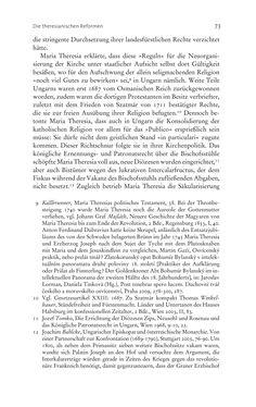 Bild der Seite - 73 - in Aufklärung habsburgisch - Staatsbildung, Wissenskultur und Geschichtspolitik in Zentraleuropa 1750–1850