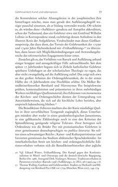 Bild der Seite - 77 - in Aufklärung habsburgisch - Staatsbildung, Wissenskultur und Geschichtspolitik in Zentraleuropa 1750–1850
