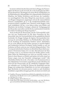 Bild der Seite - 88 - in Aufklärung habsburgisch - Staatsbildung, Wissenskultur und Geschichtspolitik in Zentraleuropa 1750–1850