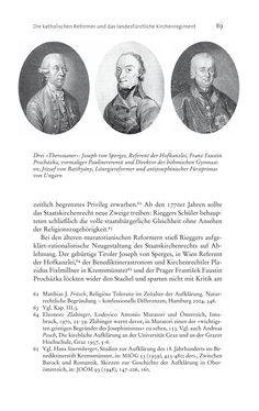 Bild der Seite - 89 - in Aufklärung habsburgisch - Staatsbildung, Wissenskultur und Geschichtspolitik in Zentraleuropa 1750–1850