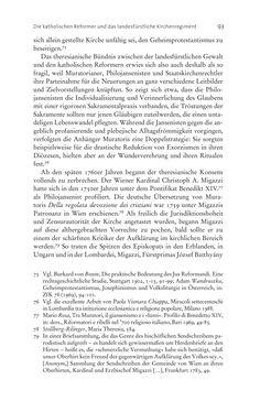 Bild der Seite - 93 - in Aufklärung habsburgisch - Staatsbildung, Wissenskultur und Geschichtspolitik in Zentraleuropa 1750–1850