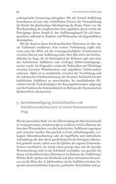 Bild der Seite - 96 - in Aufklärung habsburgisch - Staatsbildung, Wissenskultur und Geschichtspolitik in Zentraleuropa 1750–1850