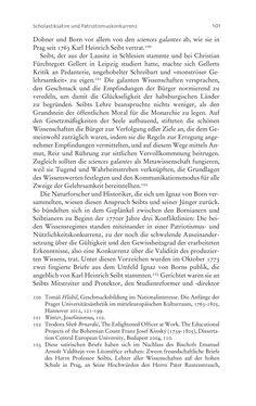 Bild der Seite - 101 - in Aufklärung habsburgisch - Staatsbildung, Wissenskultur und Geschichtspolitik in Zentraleuropa 1750–1850