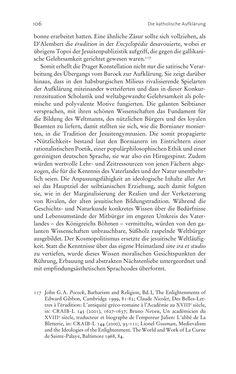 Bild der Seite - 106 - in Aufklärung habsburgisch - Staatsbildung, Wissenskultur und Geschichtspolitik in Zentraleuropa 1750–1850