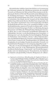 Bild der Seite - 118 - in Aufklärung habsburgisch - Staatsbildung, Wissenskultur und Geschichtspolitik in Zentraleuropa 1750–1850