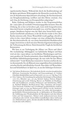 Bild der Seite - 134 - in Aufklärung habsburgisch - Staatsbildung, Wissenskultur und Geschichtspolitik in Zentraleuropa 1750–1850