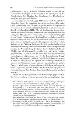 Image of the Page - 136 - in Aufklärung habsburgisch - Staatsbildung, Wissenskultur und Geschichtspolitik in Zentraleuropa 1750–1850