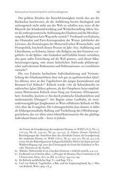 Bild der Seite - 145 - in Aufklärung habsburgisch - Staatsbildung, Wissenskultur und Geschichtspolitik in Zentraleuropa 1750–1850