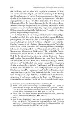 Bild der Seite - 148 - in Aufklärung habsburgisch - Staatsbildung, Wissenskultur und Geschichtspolitik in Zentraleuropa 1750–1850