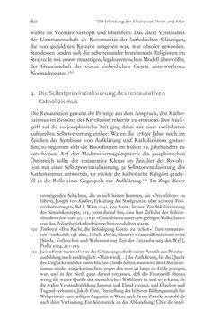 Bild der Seite - 160 - in Aufklärung habsburgisch - Staatsbildung, Wissenskultur und Geschichtspolitik in Zentraleuropa 1750–1850