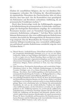 Image of the Page - 162 - in Aufklärung habsburgisch - Staatsbildung, Wissenskultur und Geschichtspolitik in Zentraleuropa 1750–1850