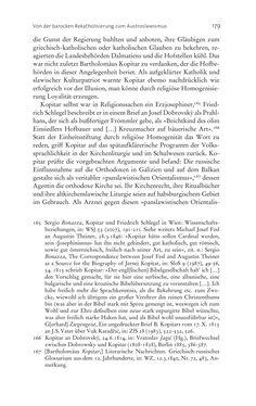Bild der Seite - 179 - in Aufklärung habsburgisch - Staatsbildung, Wissenskultur und Geschichtspolitik in Zentraleuropa 1750–1850