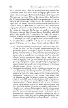 Bild der Seite - 182 - in Aufklärung habsburgisch - Staatsbildung, Wissenskultur und Geschichtspolitik in Zentraleuropa 1750–1850