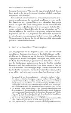 Bild der Seite - 199 - in Aufklärung habsburgisch - Staatsbildung, Wissenskultur und Geschichtspolitik in Zentraleuropa 1750–1850