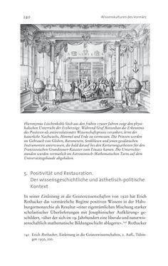 Image of the Page - 240 - in Aufklärung habsburgisch - Staatsbildung, Wissenskultur und Geschichtspolitik in Zentraleuropa 1750–1850