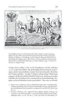 Bild der Seite - 259 - in Aufklärung habsburgisch - Staatsbildung, Wissenskultur und Geschichtspolitik in Zentraleuropa 1750–1850