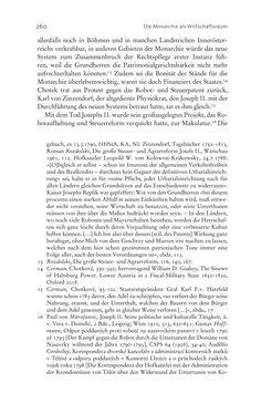 Bild der Seite - 260 - in Aufklärung habsburgisch - Staatsbildung, Wissenskultur und Geschichtspolitik in Zentraleuropa 1750–1850