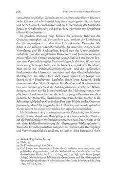 Bild der Seite - 266 - in Aufklärung habsburgisch - Staatsbildung, Wissenskultur und Geschichtspolitik in Zentraleuropa 1750–1850