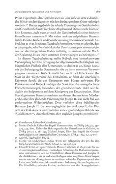 Bild der Seite - 267 - in Aufklärung habsburgisch - Staatsbildung, Wissenskultur und Geschichtspolitik in Zentraleuropa 1750–1850