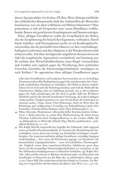 Bild der Seite - 269 - in Aufklärung habsburgisch - Staatsbildung, Wissenskultur und Geschichtspolitik in Zentraleuropa 1750–1850