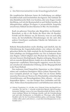 Bild der Seite - 274 - in Aufklärung habsburgisch - Staatsbildung, Wissenskultur und Geschichtspolitik in Zentraleuropa 1750–1850
