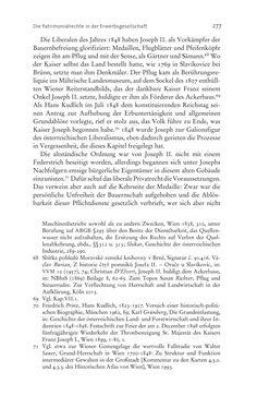 Bild der Seite - 277 - in Aufklärung habsburgisch - Staatsbildung, Wissenskultur und Geschichtspolitik in Zentraleuropa 1750–1850