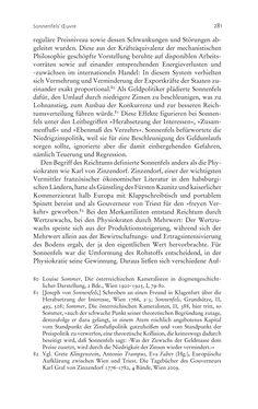 Bild der Seite - 281 - in Aufklärung habsburgisch - Staatsbildung, Wissenskultur und Geschichtspolitik in Zentraleuropa 1750–1850