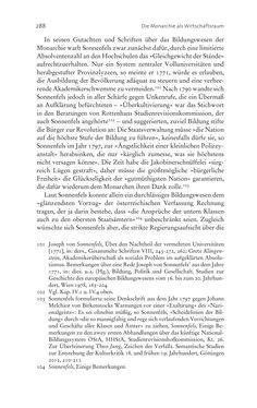 Bild der Seite - 288 - in Aufklärung habsburgisch - Staatsbildung, Wissenskultur und Geschichtspolitik in Zentraleuropa 1750–1850