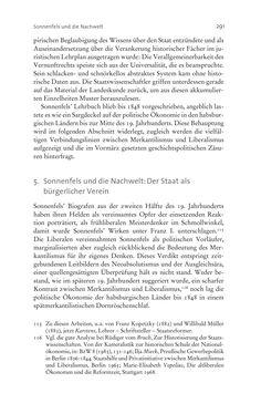 Bild der Seite - 291 - in Aufklärung habsburgisch - Staatsbildung, Wissenskultur und Geschichtspolitik in Zentraleuropa 1750–1850
