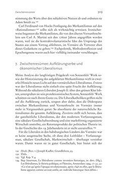 Image of the Page - 309 - in Aufklärung habsburgisch - Staatsbildung, Wissenskultur und Geschichtspolitik in Zentraleuropa 1750–1850