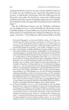 Bild der Seite - 316 - in Aufklärung habsburgisch - Staatsbildung, Wissenskultur und Geschichtspolitik in Zentraleuropa 1750–1850