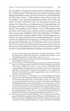 Bild der Seite - 323 - in Aufklärung habsburgisch - Staatsbildung, Wissenskultur und Geschichtspolitik in Zentraleuropa 1750–1850