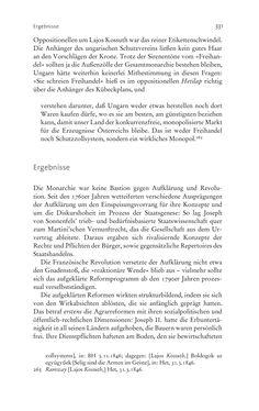 Image of the Page - 331 - in Aufklärung habsburgisch - Staatsbildung, Wissenskultur und Geschichtspolitik in Zentraleuropa 1750–1850