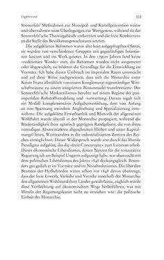 Bild der Seite - 333 - in Aufklärung habsburgisch - Staatsbildung, Wissenskultur und Geschichtspolitik in Zentraleuropa 1750–1850