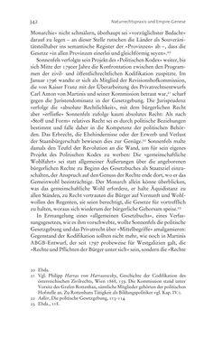 Bild der Seite - 342 - in Aufklärung habsburgisch - Staatsbildung, Wissenskultur und Geschichtspolitik in Zentraleuropa 1750–1850
