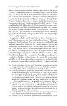 Bild der Seite - 375 - in Aufklärung habsburgisch - Staatsbildung, Wissenskultur und Geschichtspolitik in Zentraleuropa 1750–1850