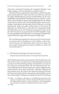 Bild der Seite - 381 - in Aufklärung habsburgisch - Staatsbildung, Wissenskultur und Geschichtspolitik in Zentraleuropa 1750–1850