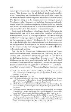 Bild der Seite - 396 - in Aufklärung habsburgisch - Staatsbildung, Wissenskultur und Geschichtspolitik in Zentraleuropa 1750–1850