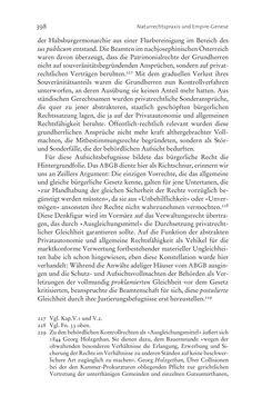 Bild der Seite - 398 - in Aufklärung habsburgisch - Staatsbildung, Wissenskultur und Geschichtspolitik in Zentraleuropa 1750–1850