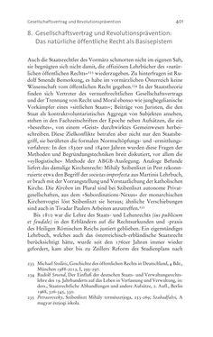 Bild der Seite - 401 - in Aufklärung habsburgisch - Staatsbildung, Wissenskultur und Geschichtspolitik in Zentraleuropa 1750–1850