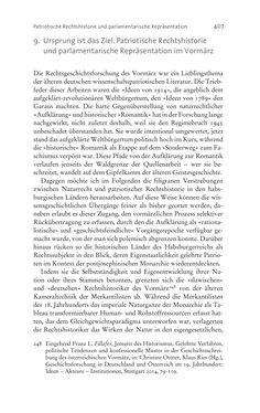 Bild der Seite - 407 - in Aufklärung habsburgisch - Staatsbildung, Wissenskultur und Geschichtspolitik in Zentraleuropa 1750–1850