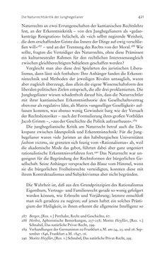 Bild der Seite - 421 - in Aufklärung habsburgisch - Staatsbildung, Wissenskultur und Geschichtspolitik in Zentraleuropa 1750–1850