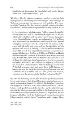 Bild der Seite - 422 - in Aufklärung habsburgisch - Staatsbildung, Wissenskultur und Geschichtspolitik in Zentraleuropa 1750–1850