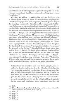 Bild der Seite - 441 - in Aufklärung habsburgisch - Staatsbildung, Wissenskultur und Geschichtspolitik in Zentraleuropa 1750–1850